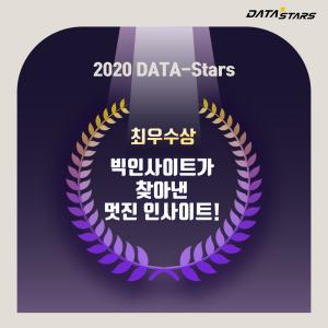 2020 DATA-Stars 최우수상 빅인사이트가 찾아낸 멋진 인사이트!
